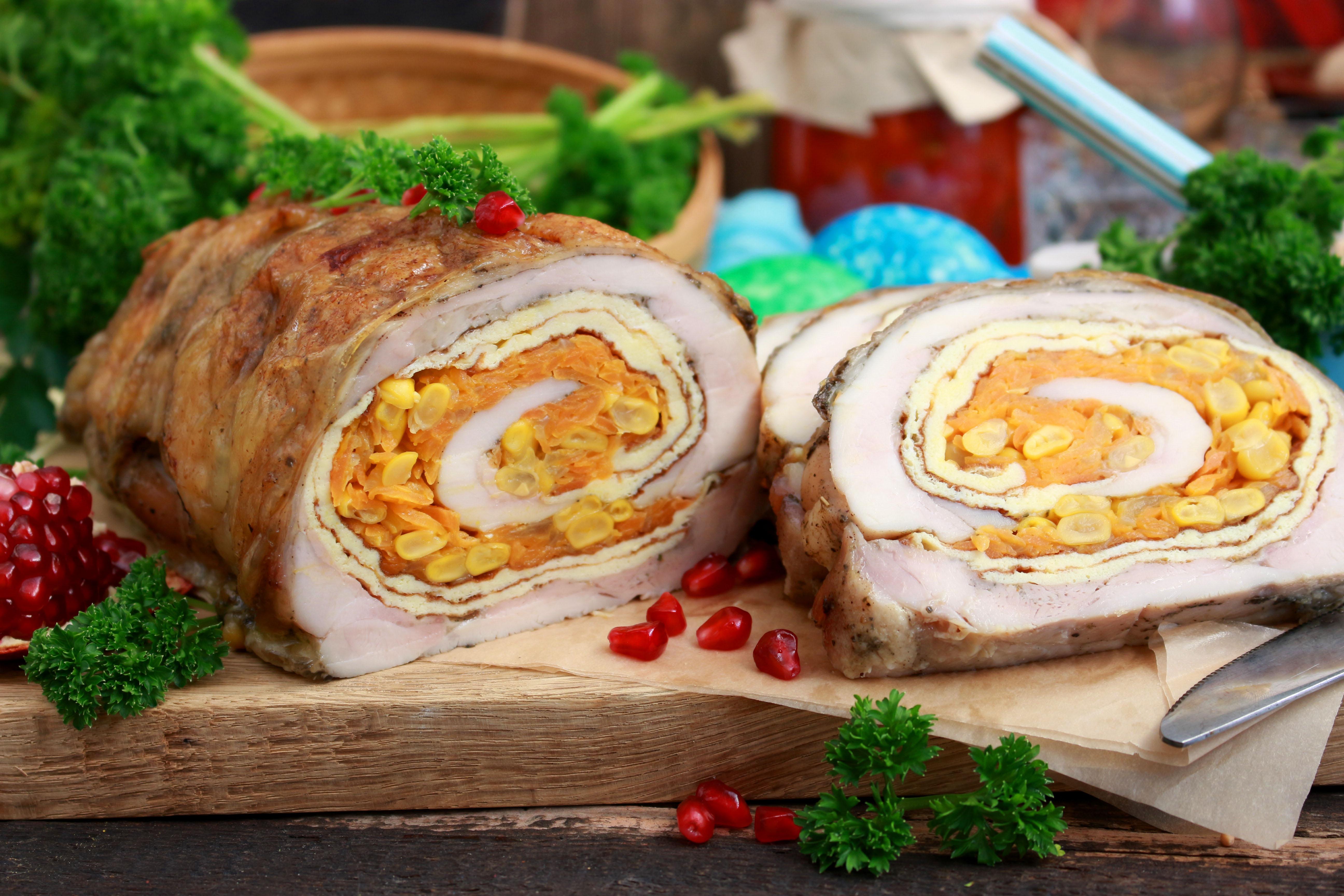 рулет куриный домашняя рецепт с фото глаз исключение