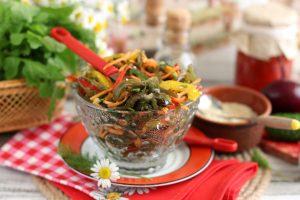 Салат «Дальневосточный» из морской капусты