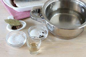 Сельдь соленая в маринаде за сутки
