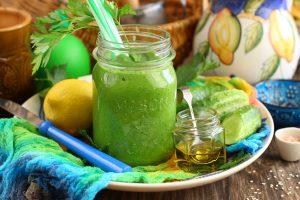 Огуречно-сельдереевый напиток для похудения