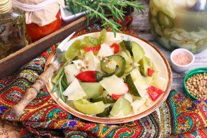 Квашеные овощи по-турецки