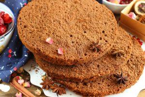 Идеальный шоколадный бисквит