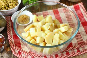Картофельный салат «Минутное дело»