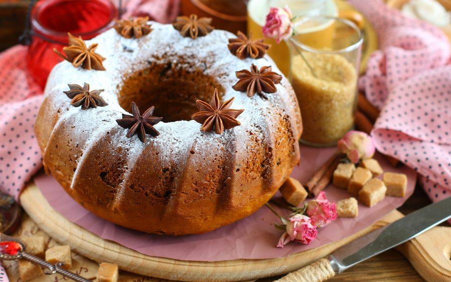 Пряничный кекс