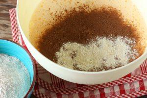 Ленивая шоколадная ватрушка