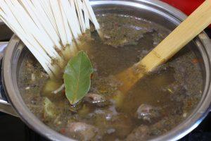 Суп из печени