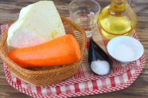 Капустный салат с морковью
