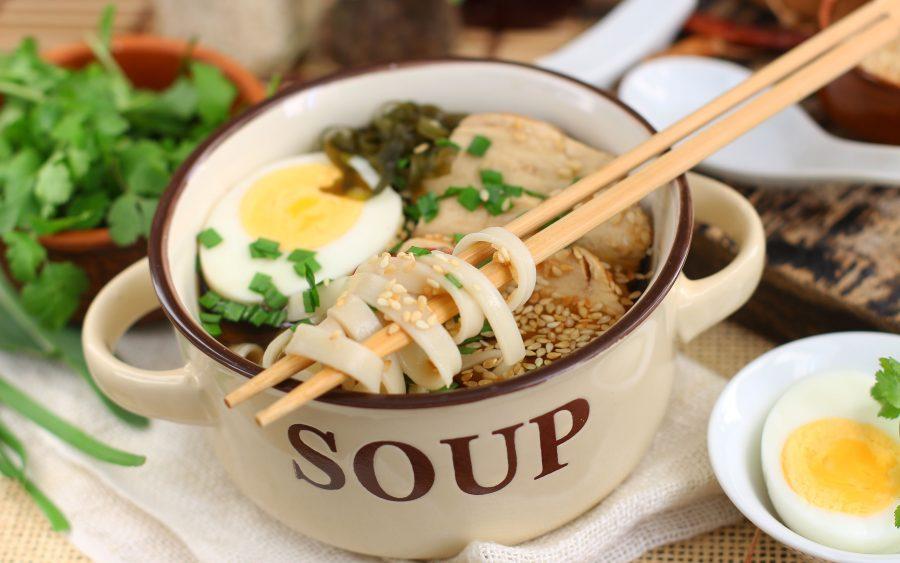 Суп рамен «По-домашнему»