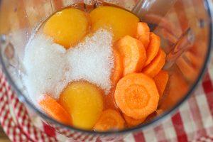 Морковный бисквит