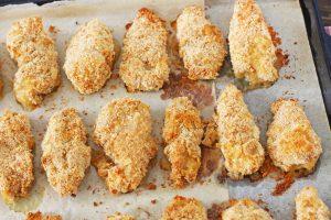 Куриные наггетсы в духовке