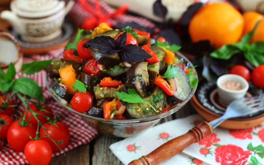 Салат из баклажанов «Баку»