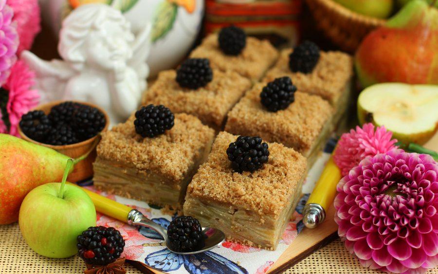 Пирог с грушами «Неженка»