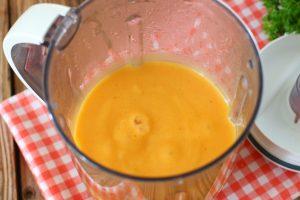 Густой суп с овощами и брокколи