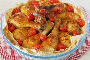 Курица в лаваше по-армянски